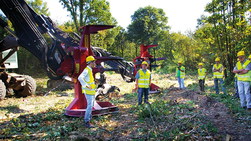 Aide aux missions de maîtrise d'œuvre forestière, réunion avec un gestionnaire forestier