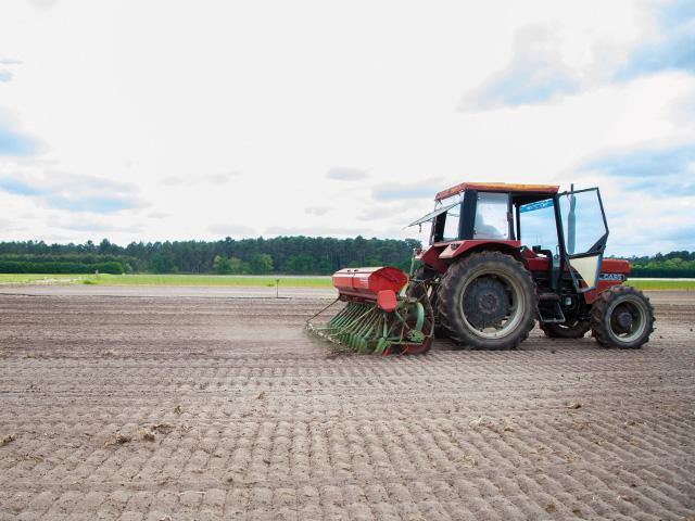 Aide au reboisement, travail du sol